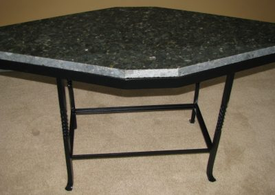 Brown's forge granite table stand 1