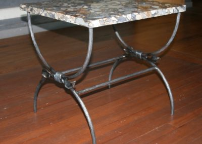 small granite table