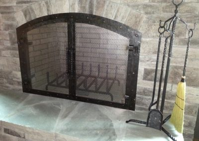 Fireplace doors 7