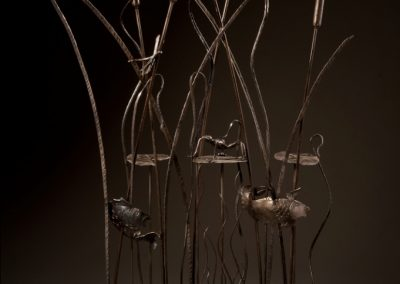 """Above and Below: Water Life in Steel"""