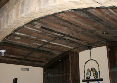 Barrel ceiling