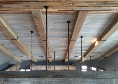 Ceiling beam forged brackets